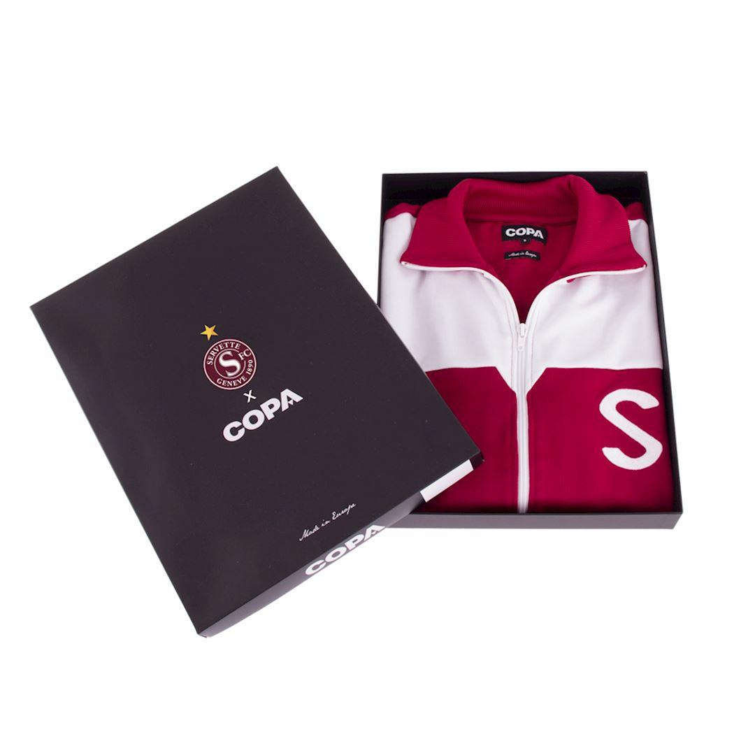Servette FC 1959 - 60 Retro Football Jacket | 6 | COPA
