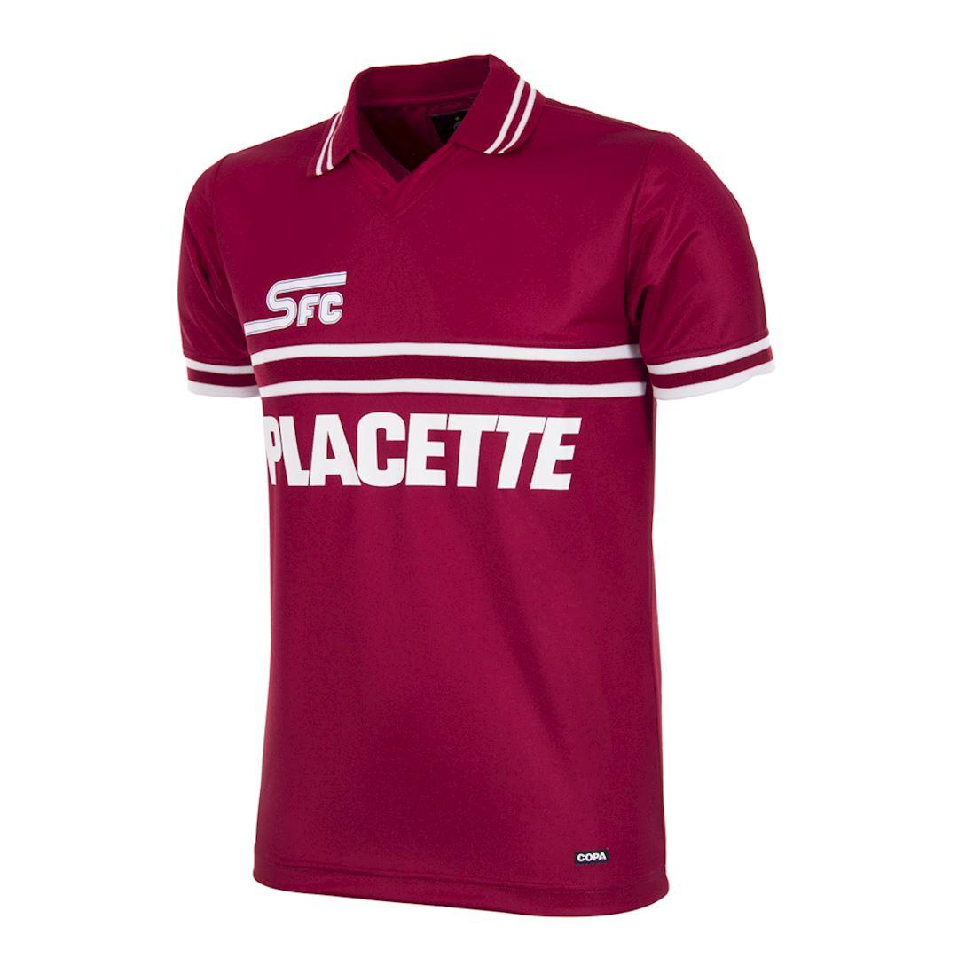 Servette FC 1984 - 85 Retro Football Shirt   1   COPA