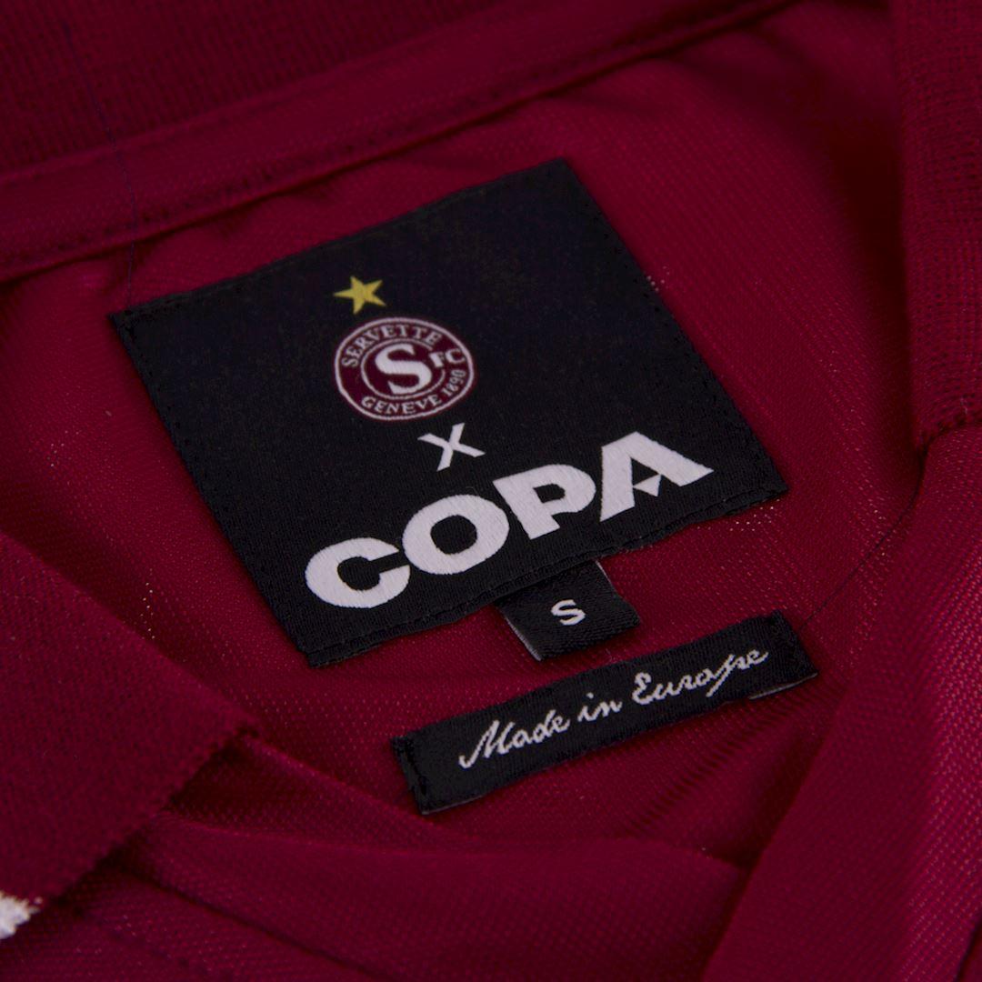 Servette FC 1984 - 85 Retro Football Shirt   5   COPA