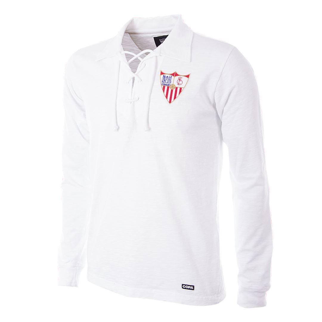 Sevilla FC 1945 - 46 Retro Football Shirt | 1 | COPA