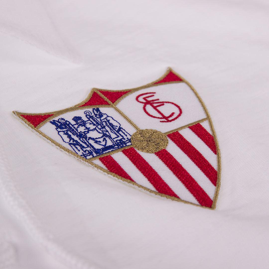 Sevilla FC 1945 - 46 Retro Football Shirt | 3 | COPA