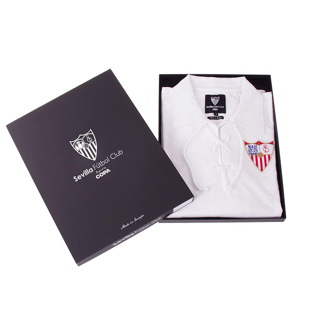 Sevilla FC 1945 - 46 Retro Football Shirt | 6 | COPA