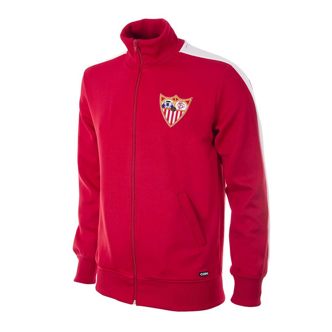 Sevilla FC 1970 - 71 Retro Football Jacket   1   COPA