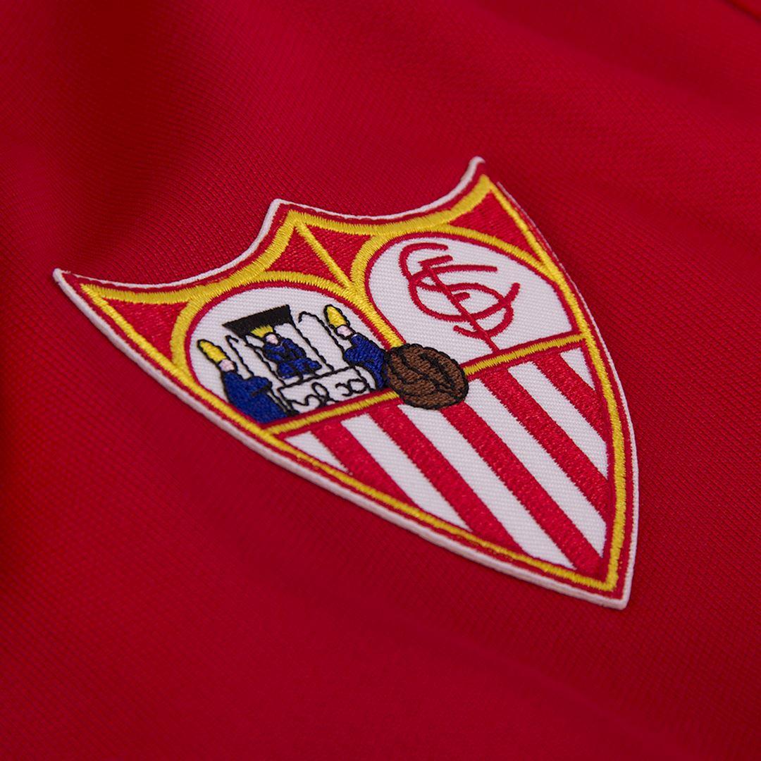 Sevilla FC 1970 - 71 Retro Football Jacket   3   COPA