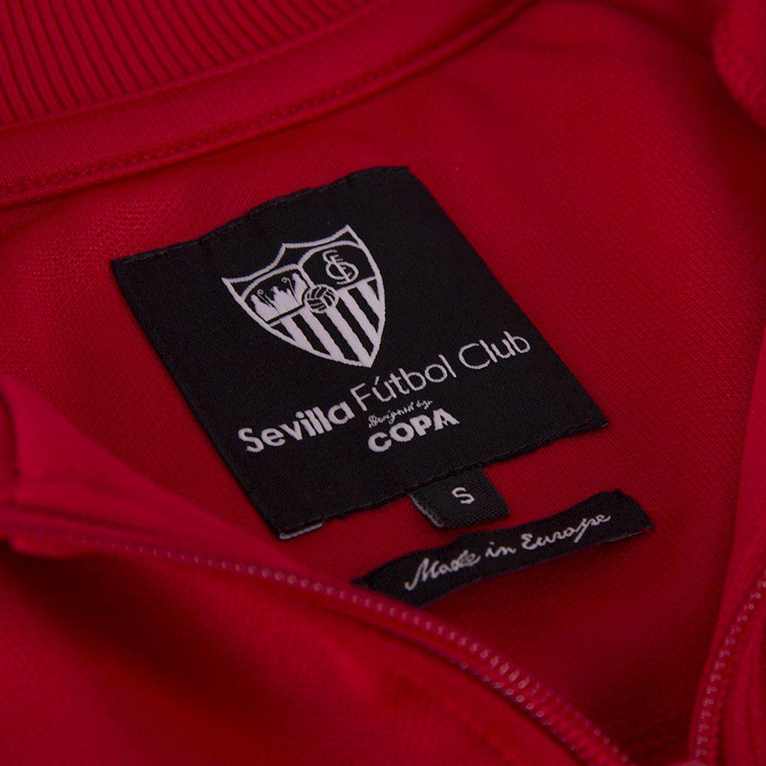 Sevilla FC 1970 - 71 Retro Football Jacket   5   COPA