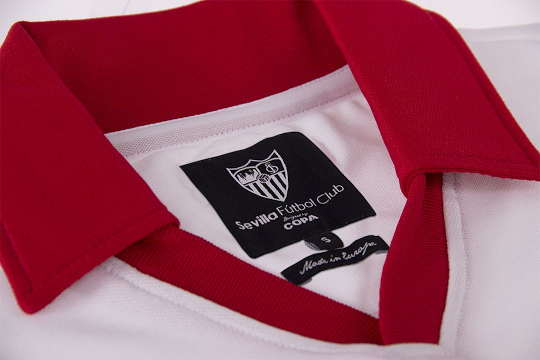 Sevilla FC 1980 - 81 Retro Football Shirt   5   COPA