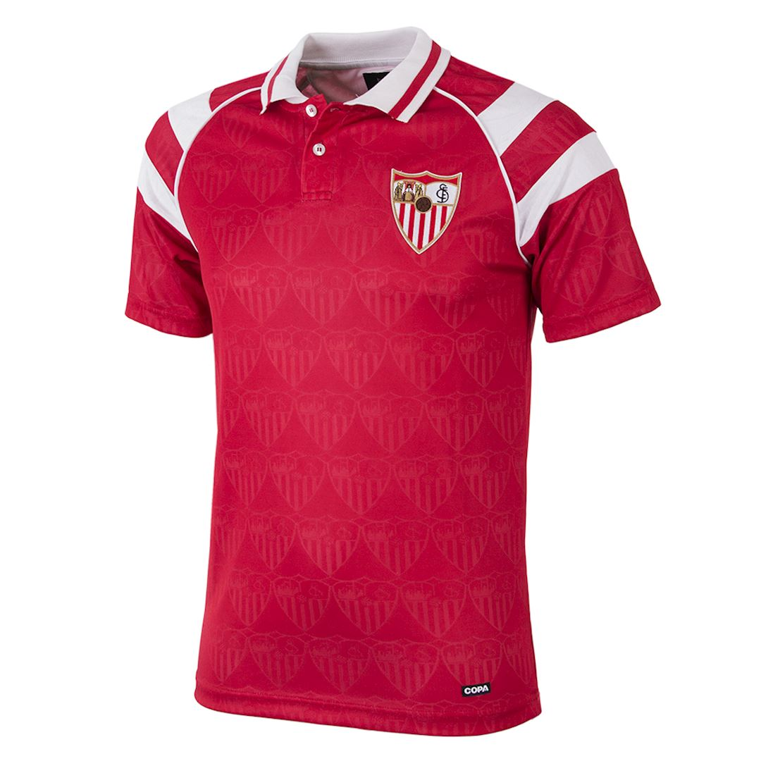 Sevilla FC 1992 - 93 Away Retro Football Shirt | 1 | COPA