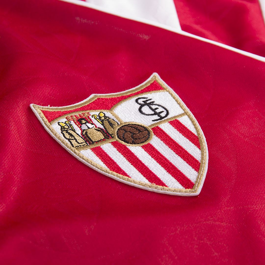 Sevilla FC 1992 - 93 Away Retro Football Shirt | 3 | COPA