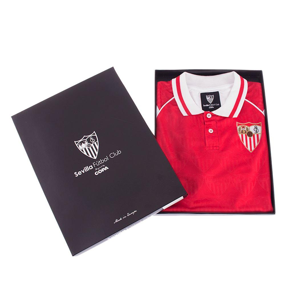 Sevilla FC 1992 - 93 Away Retro Football Shirt | 7 | COPA