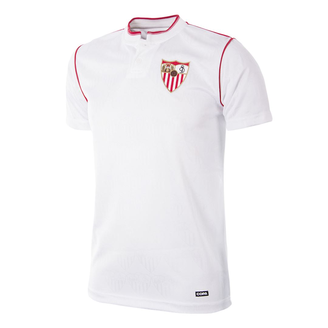 273 | Sevilla FC 1992 - 93 Maillot de Foot Rétro | 1 | COPA