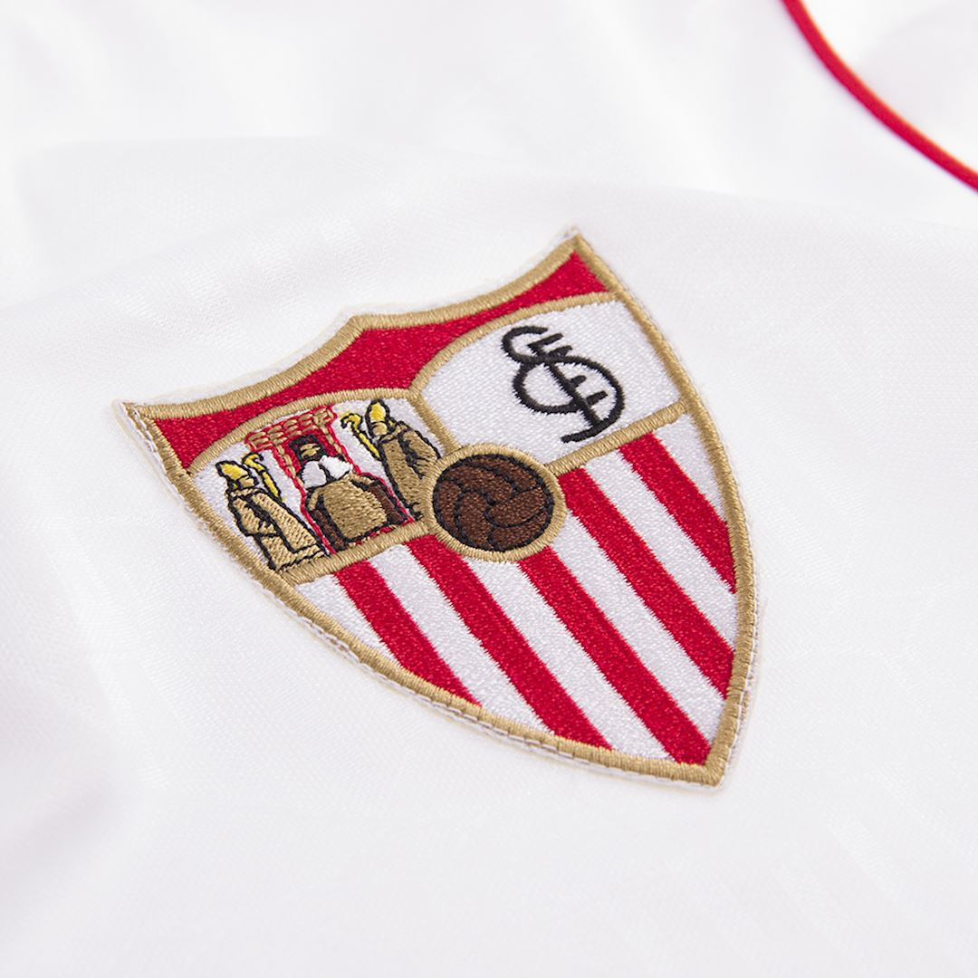 Sevilla FC 1992 - 93 Retro Football Shirt | 3 | COPA