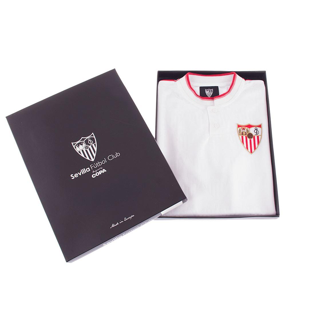 Sevilla FC 1992 - 93 Retro Football Shirt | 7 | COPA