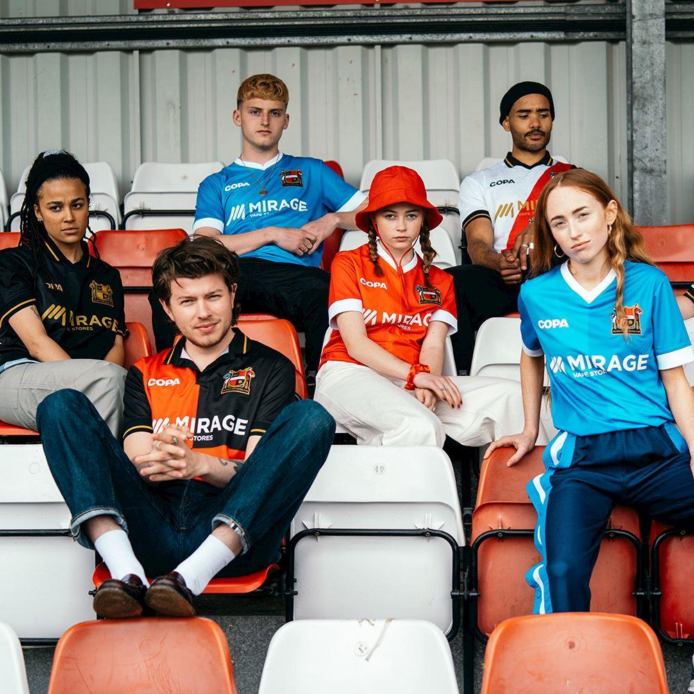 Sheffield FC Away Football Shirt | 9 | COPA
