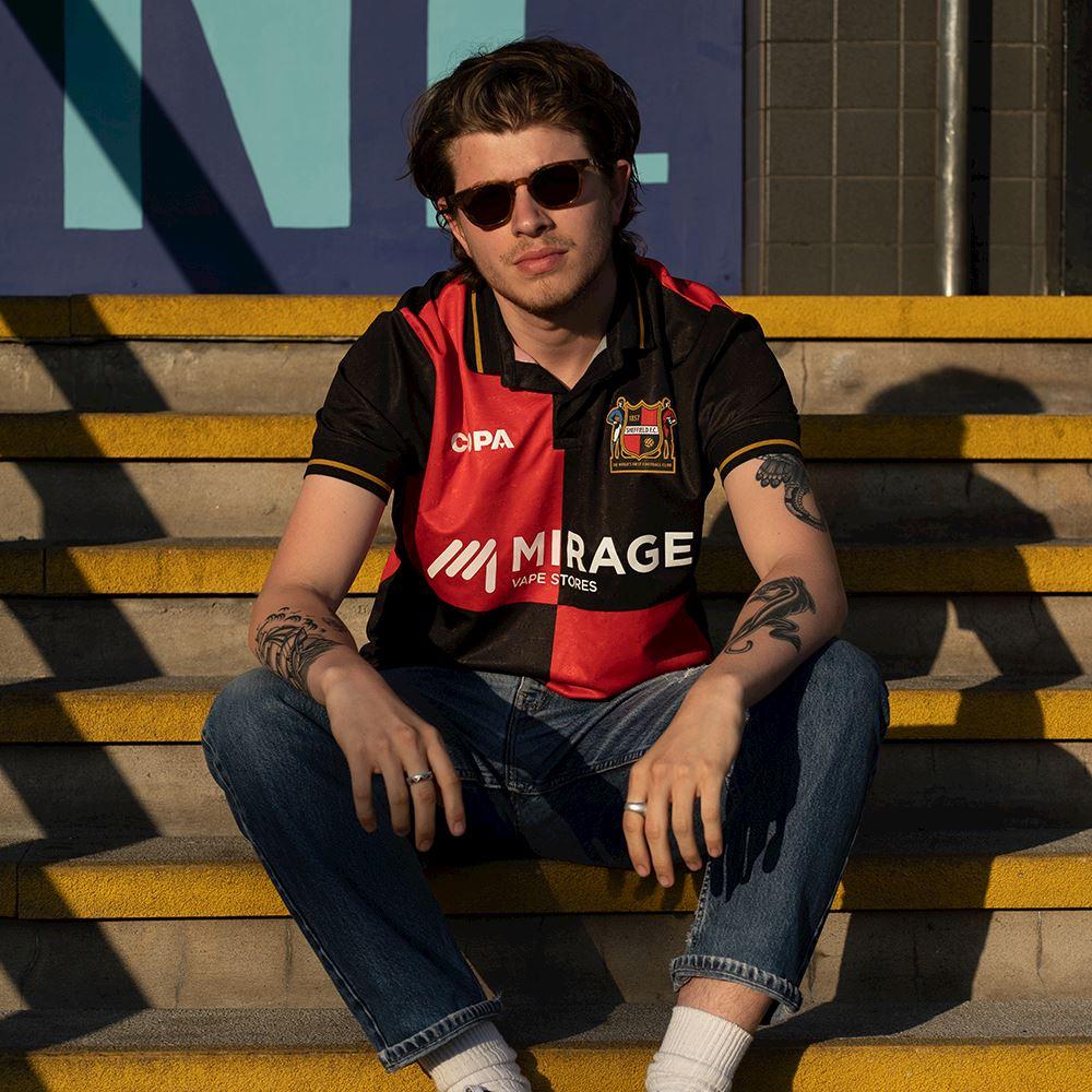 Sheffield FC Home Football Shirt | 8 | COPA