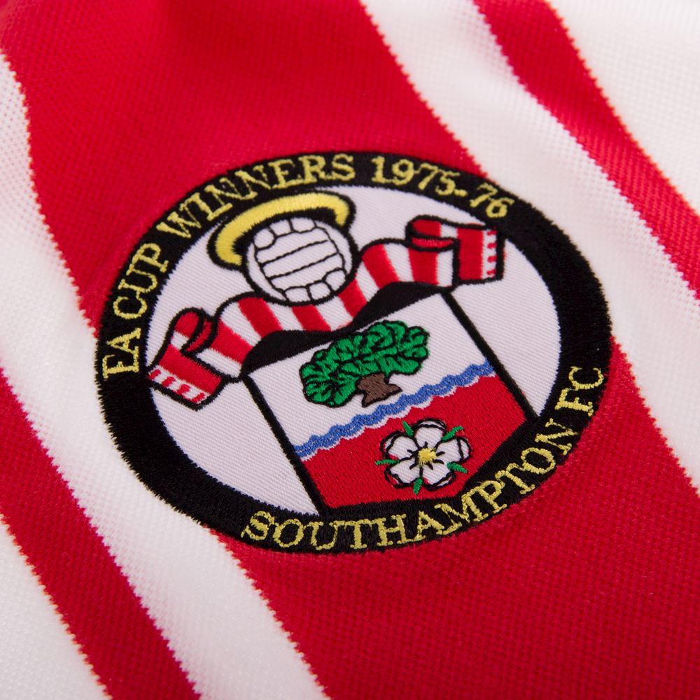 Southampton FC 1976 Cup Winners Retro Football Shirt | 3 | COPA