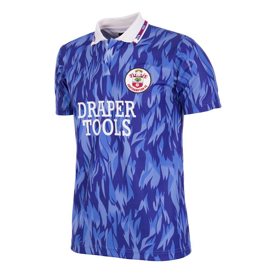 Southampton FC 1991 - 93 Away Retro Football Shirt   1   COPA