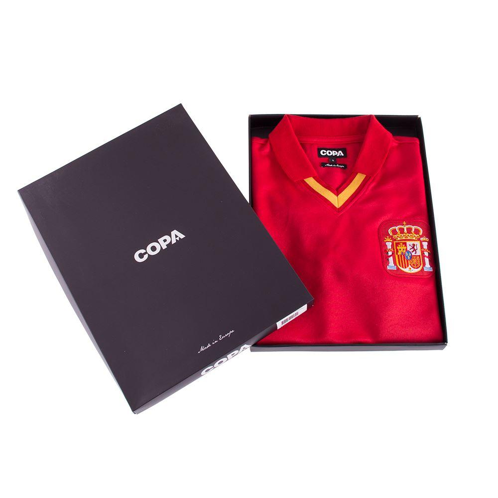 Spain 1988 Retro Football Shirt   6   COPA