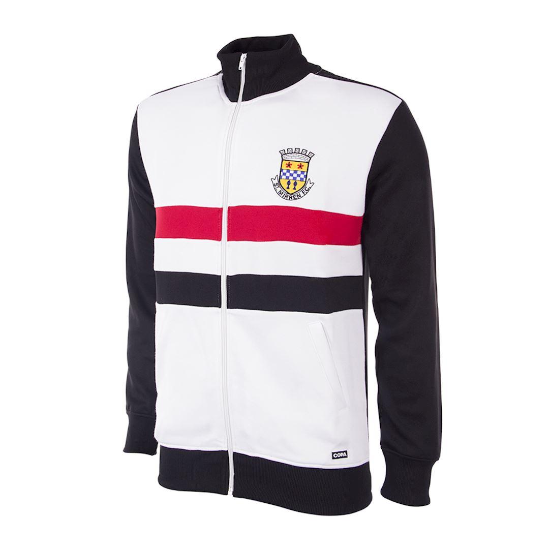 St. Mirren 1988 - 89 Retro Football Jacket   1   COPA