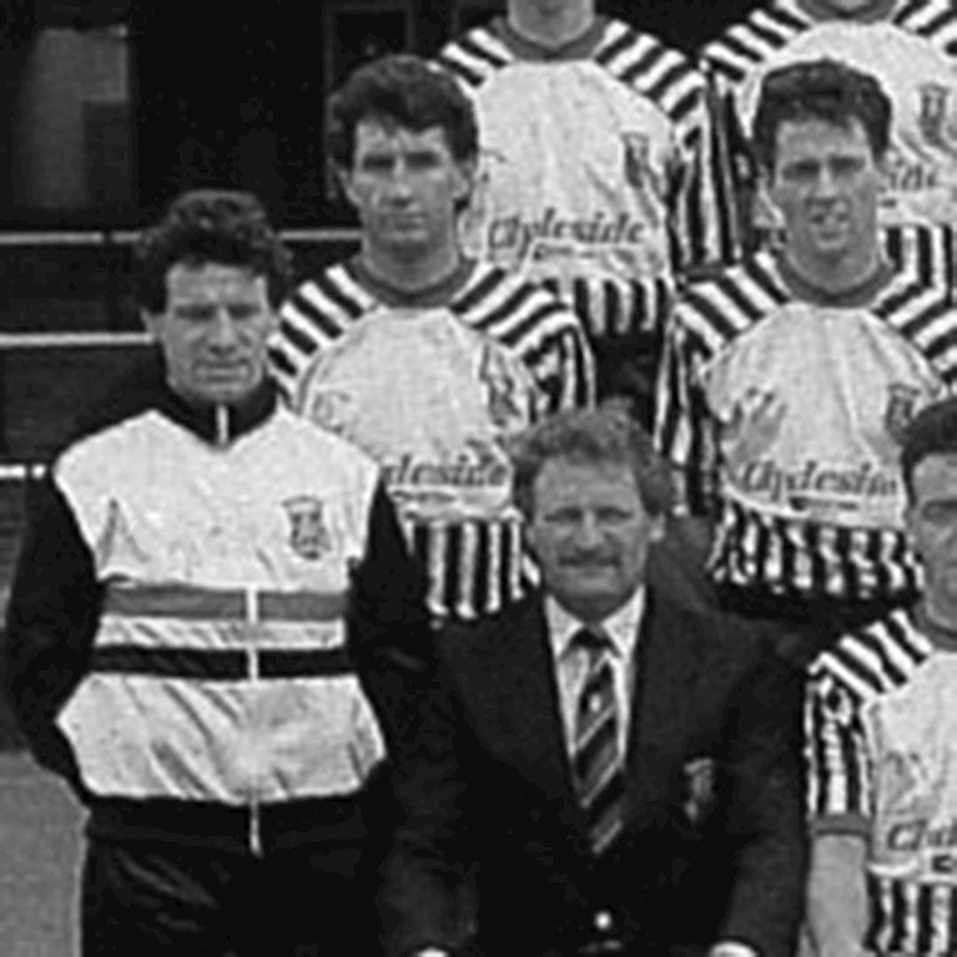 St. Mirren 1988 - 89 Retro Football Jacket   2   COPA