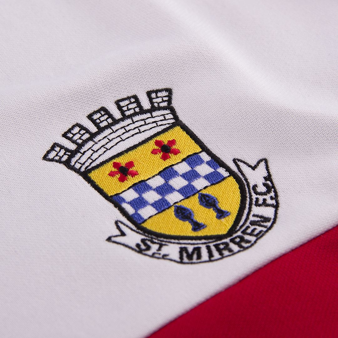 St. Mirren 1988 - 89 Retro Football Jacket   3   COPA
