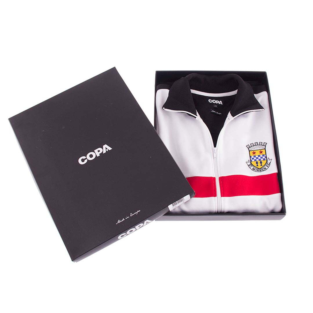 St. Mirren 1988 - 89 Retro Football Jacket   6   COPA