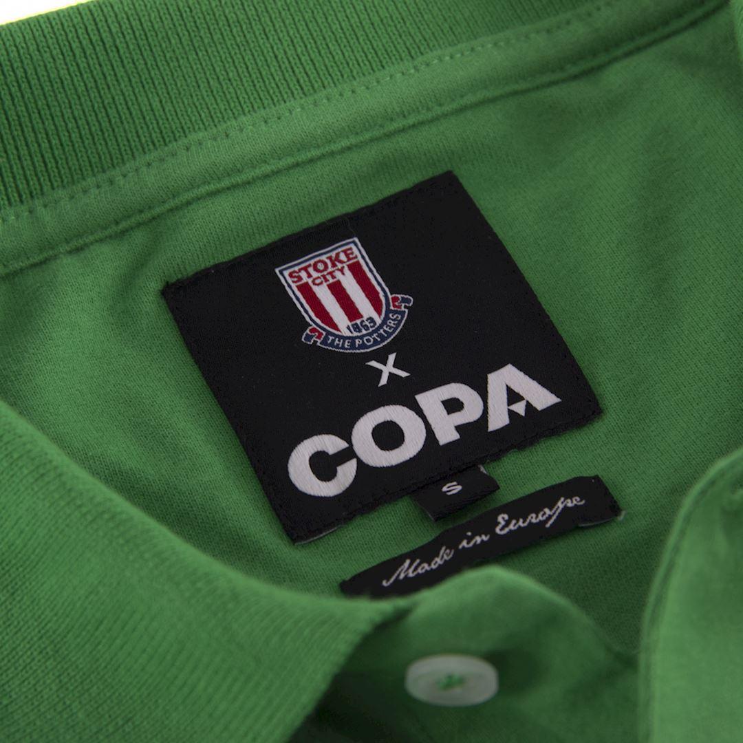 Stoke City FC 1972 Goalie Retro Football Shirt | 5 | COPA