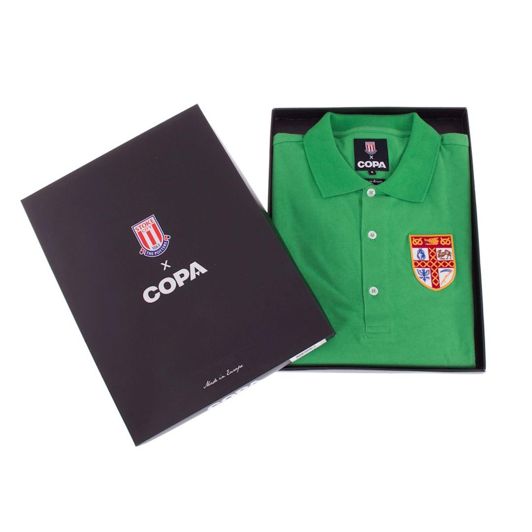Stoke City FC 1972 Goalie Retro Football Shirt | 6 | COPA