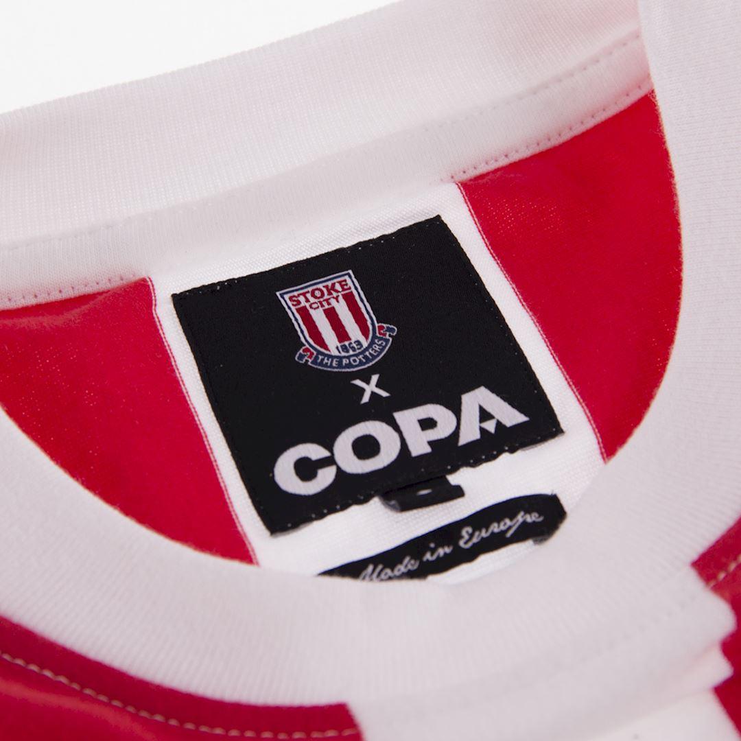 Stoke City FC 1972 Retro Football Shirt | 5 | COPA