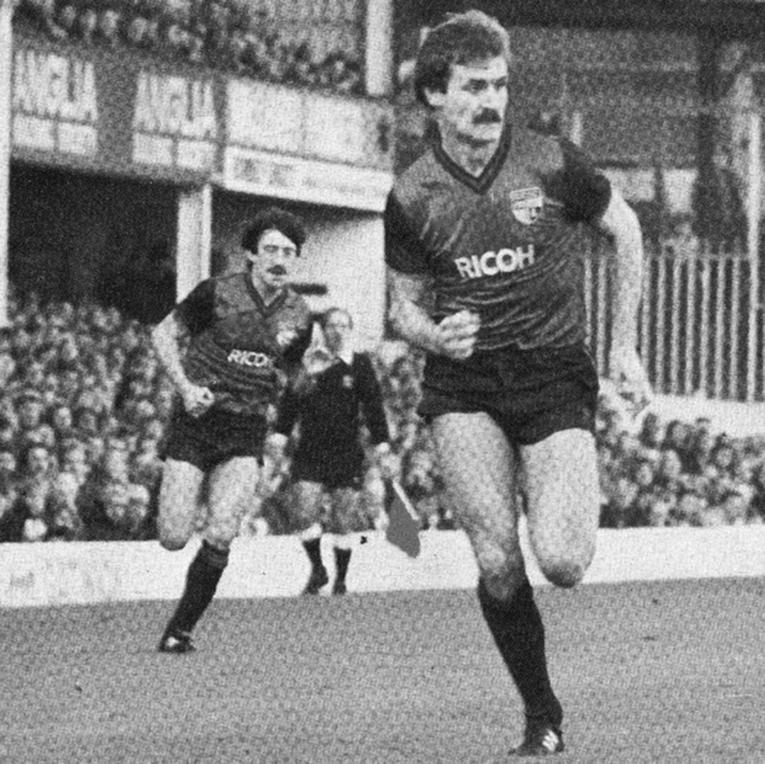Stoke City FC 1983 - 85 Away Retro Football Shirt | 2 | COPA