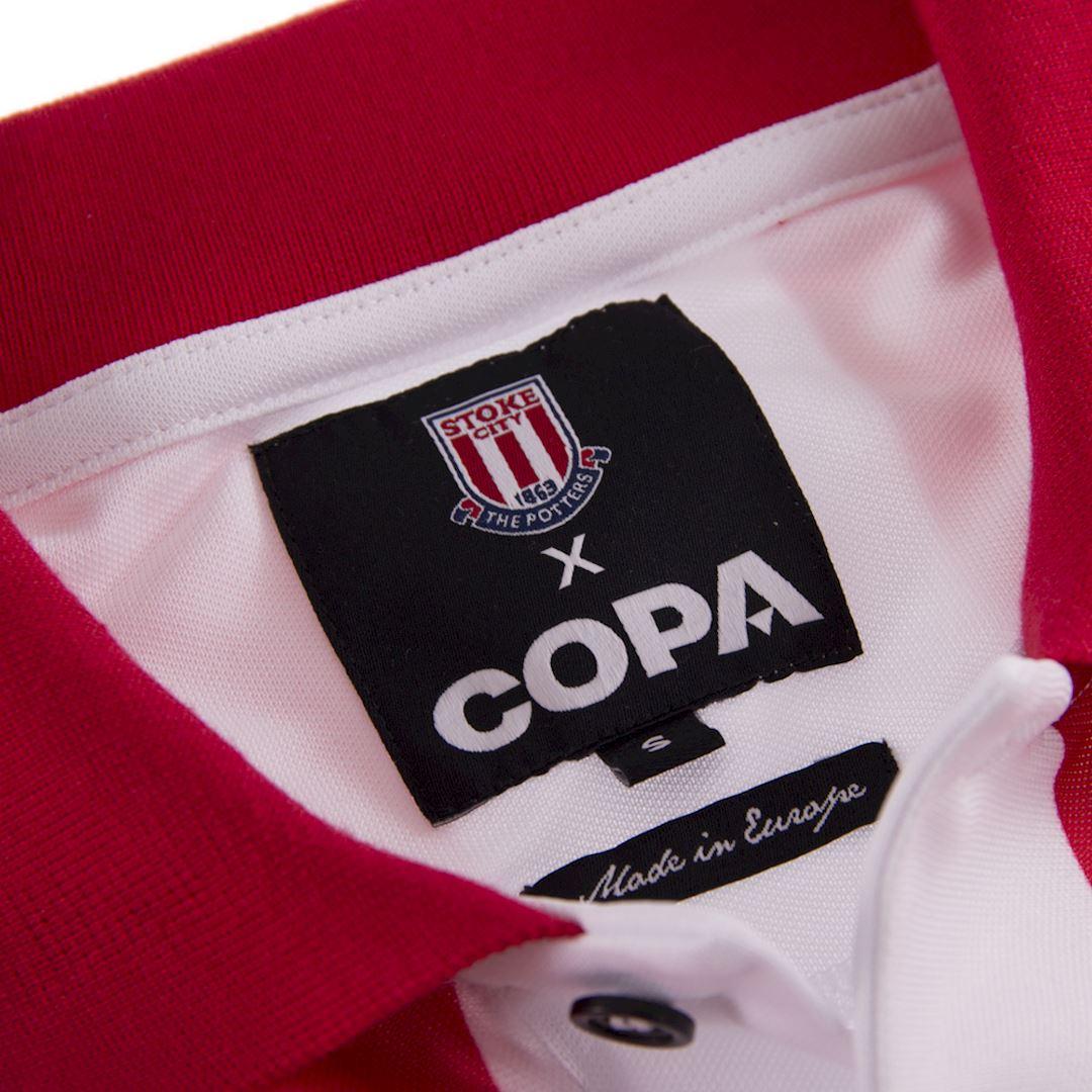 Stoke City FC 1993 - 94 Retro Football Shirt | 5 | COPA