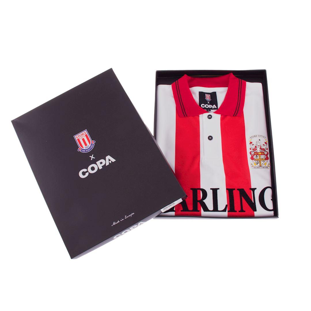 Stoke City FC 1993 - 94 Retro Football Shirt | 6 | COPA