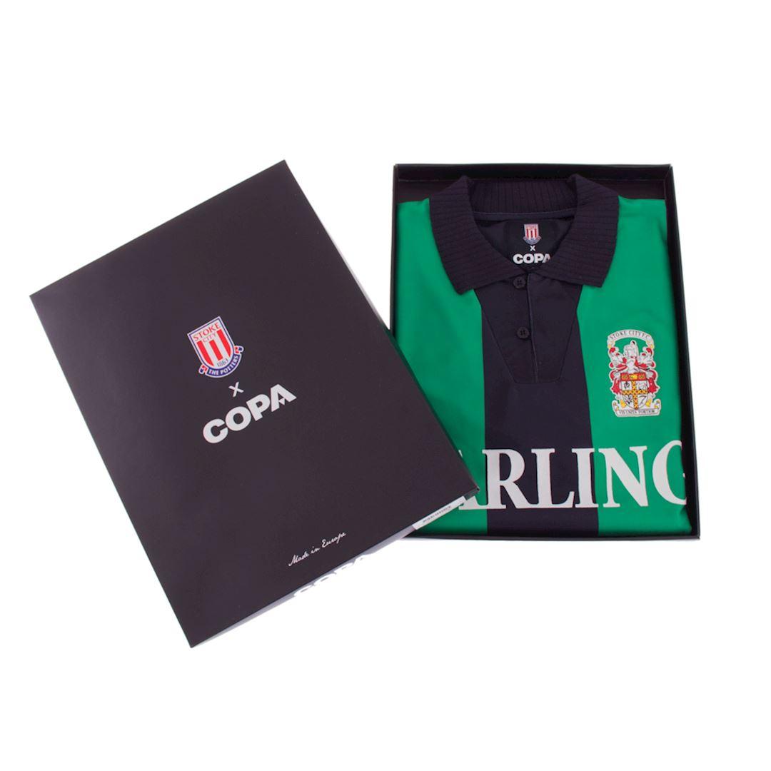 Stoke City FC 1994 - 95 Away Retro Football Shirt | 6 | COPA