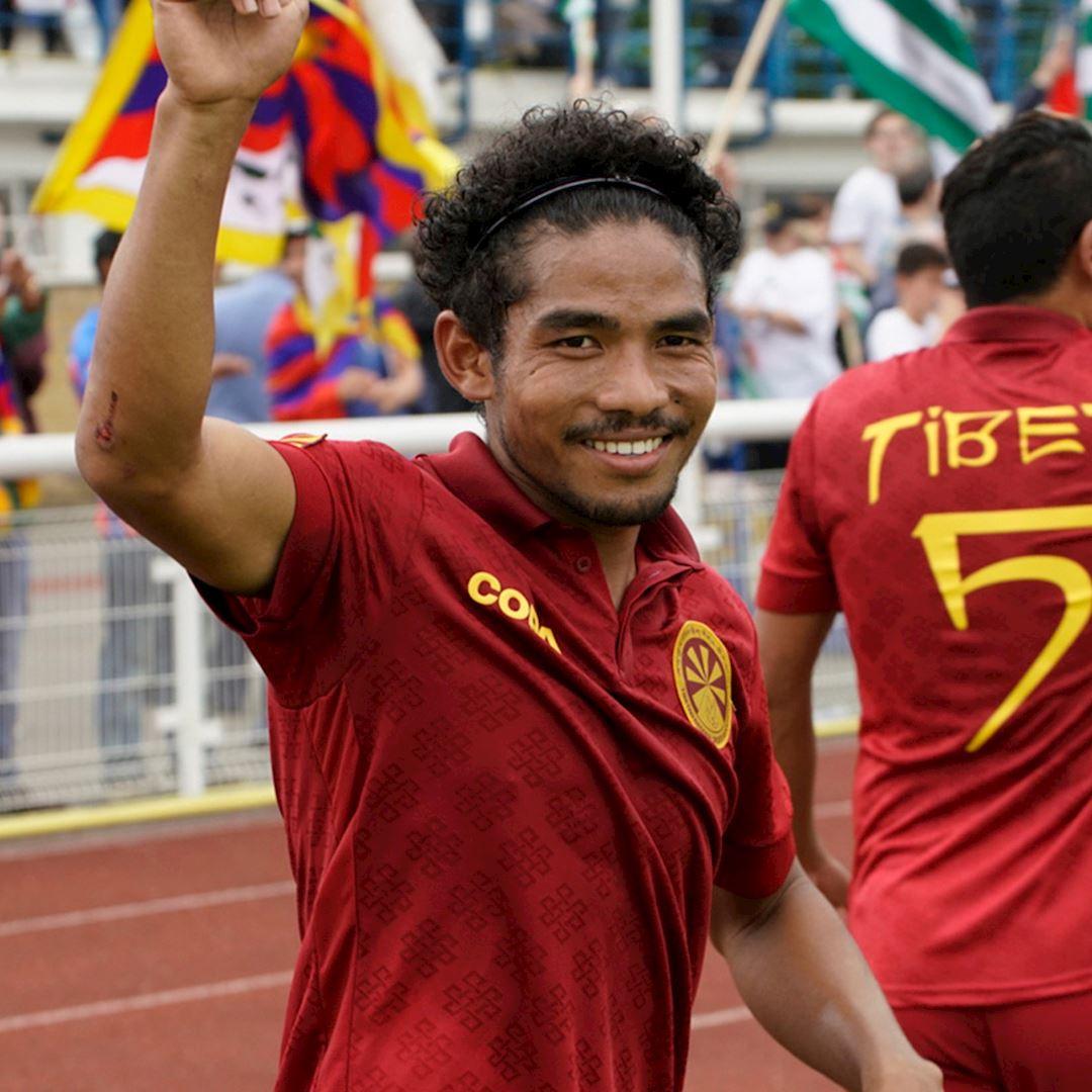 Tibet Away Football Shirt | 9 | COPA