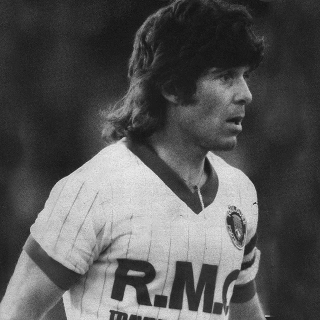 Toulouse FC 1983 - 84 Away Retro Football Shirt   2   COPA