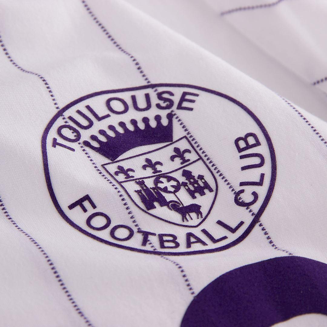 Toulouse FC 1983 - 84 Away Retro Football Shirt   3   COPA