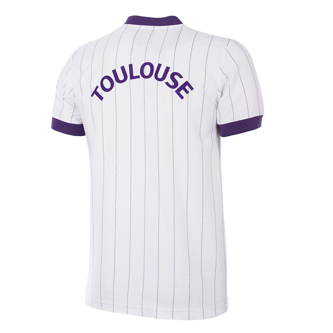 Toulouse FC 1983 - 84 Away Retro Football Shirt   4   COPA