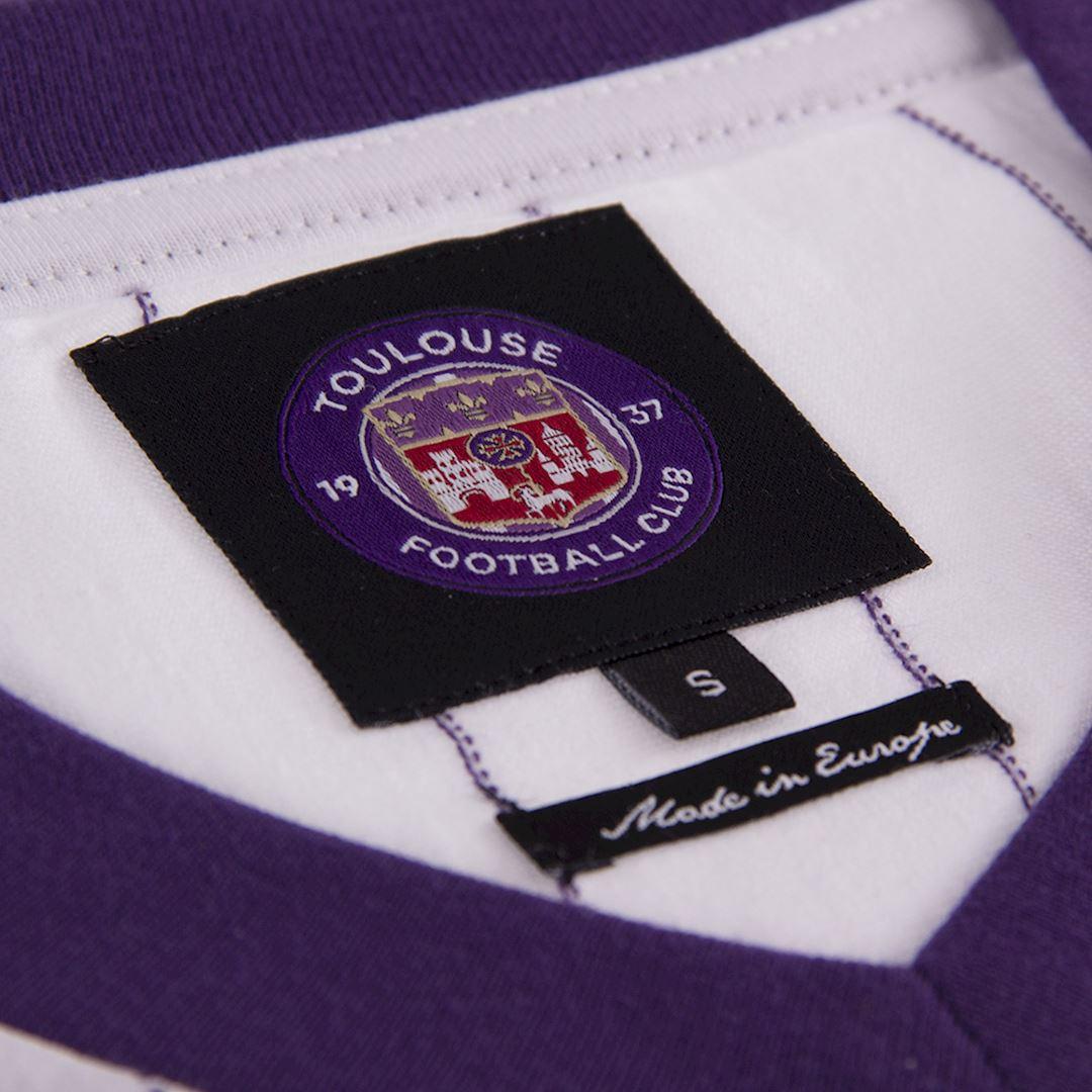 Toulouse FC 1983 - 84 Away Retro Football Shirt   6   COPA