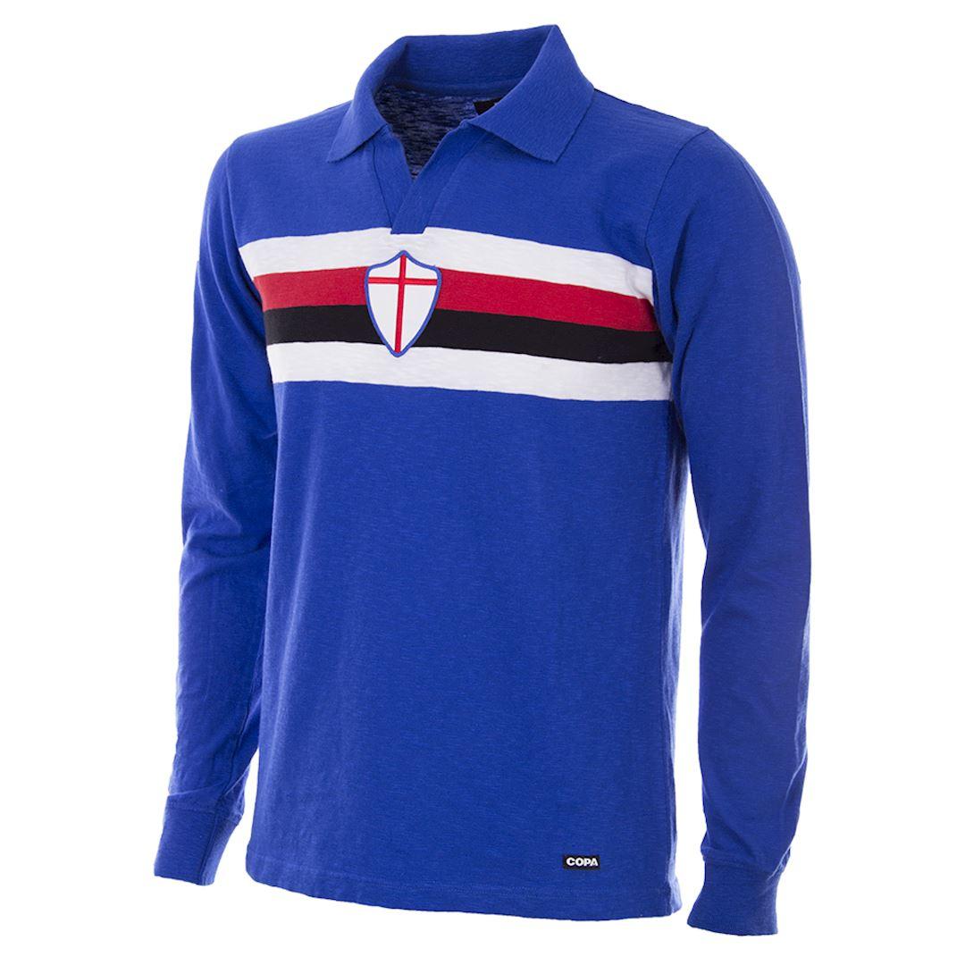 U. C. Sampdoria 1956 - 57 Retro Football Shirt | 1 | COPA
