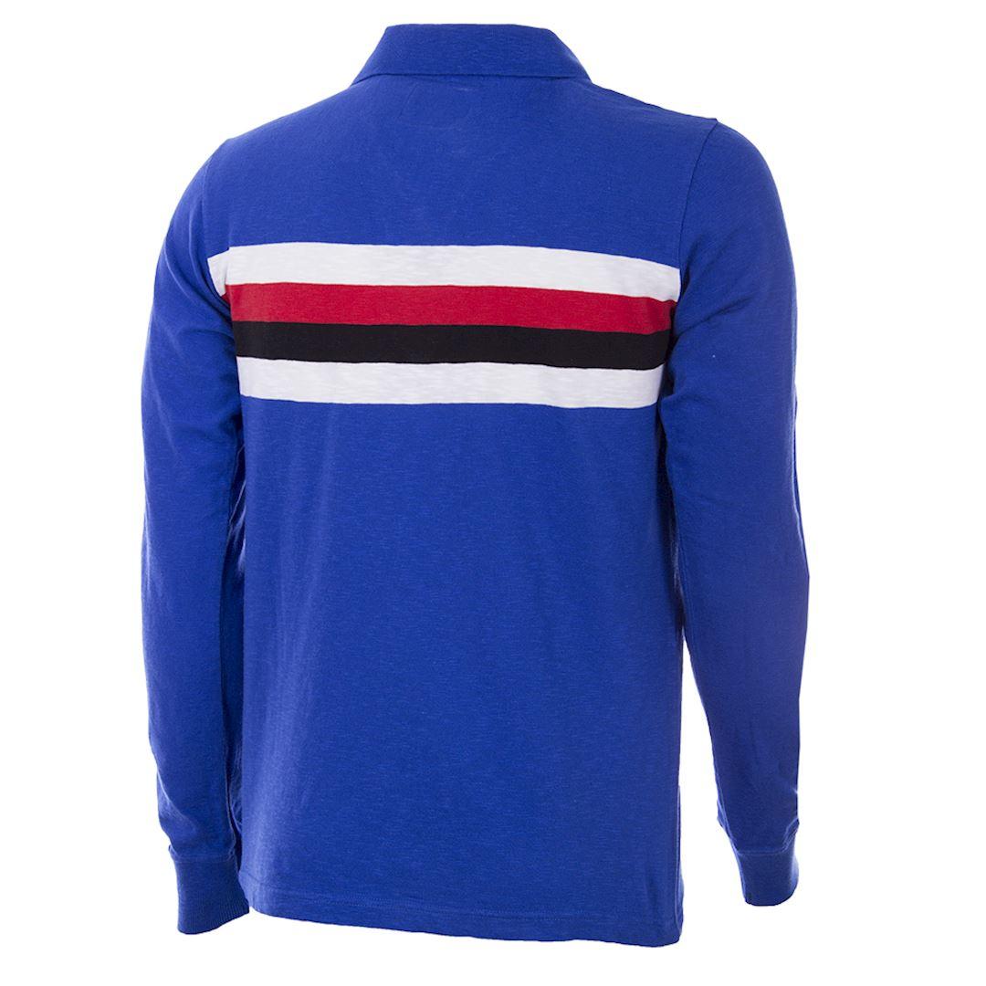 U. C. Sampdoria 1956 - 57 Retro Football Shirt | 4 | COPA