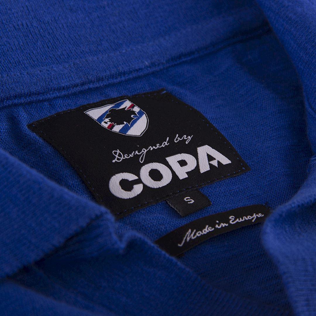 U. C. Sampdoria 1956 - 57 Retro Football Shirt | 5 | COPA