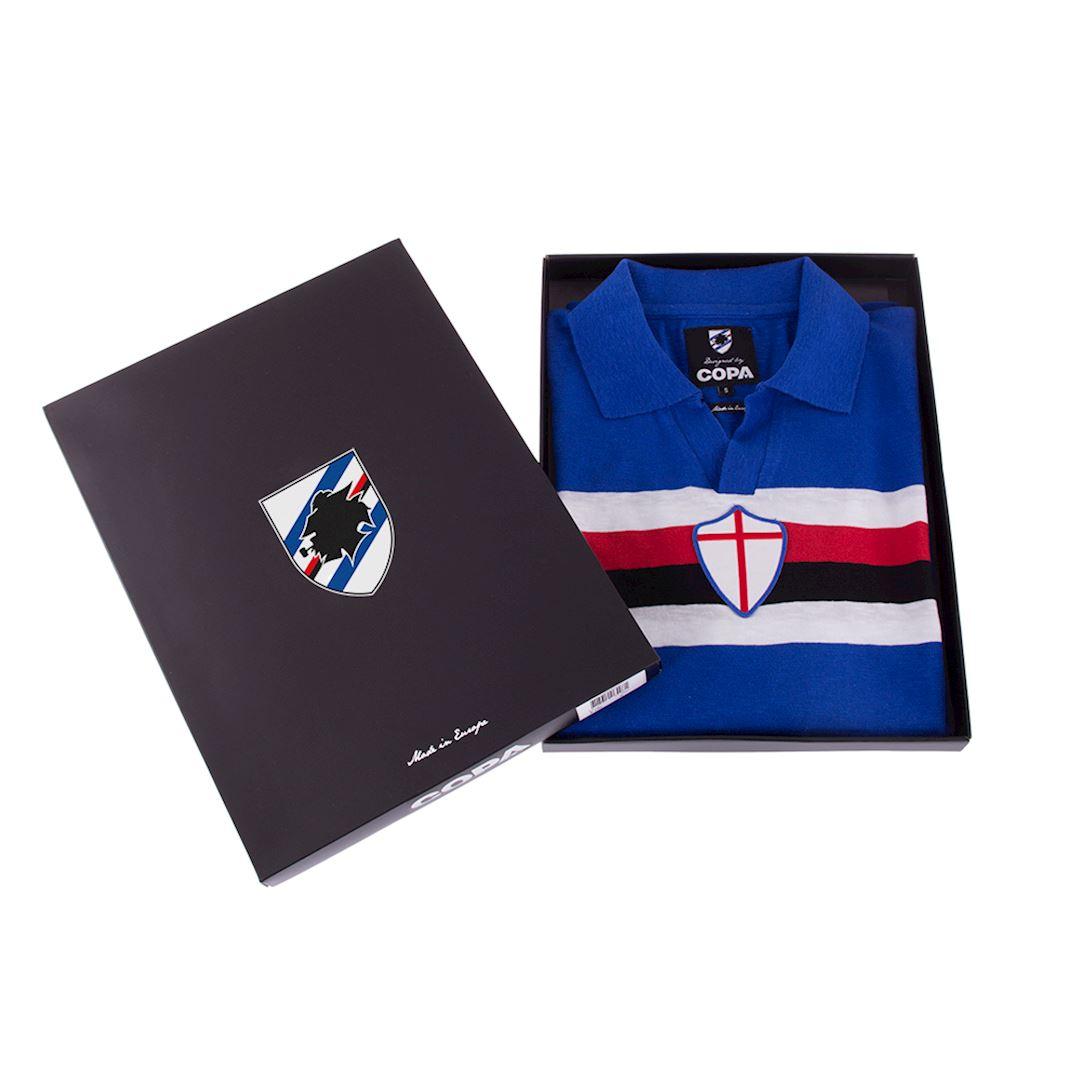 U. C. Sampdoria 1956 - 57 Retro Football Shirt | 6 | COPA
