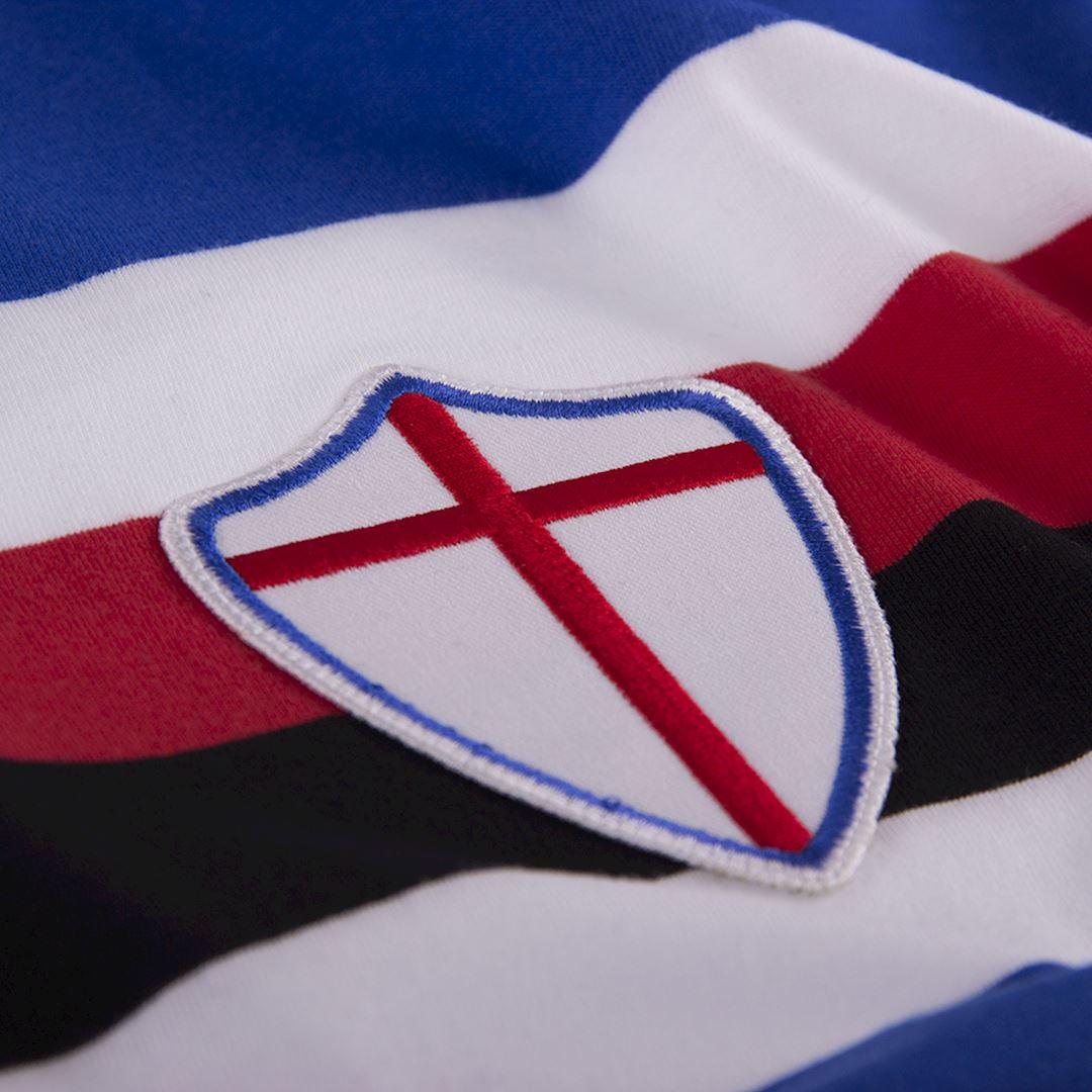 U. C. Sampdoria 1975 - 76 Retro Football Shirt | 3 | COPA