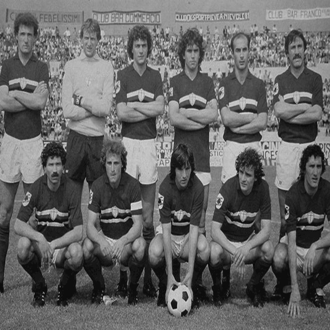 U. C. Sampdoria 1981 - 82 Retro Football Shirt | 2 | COPA