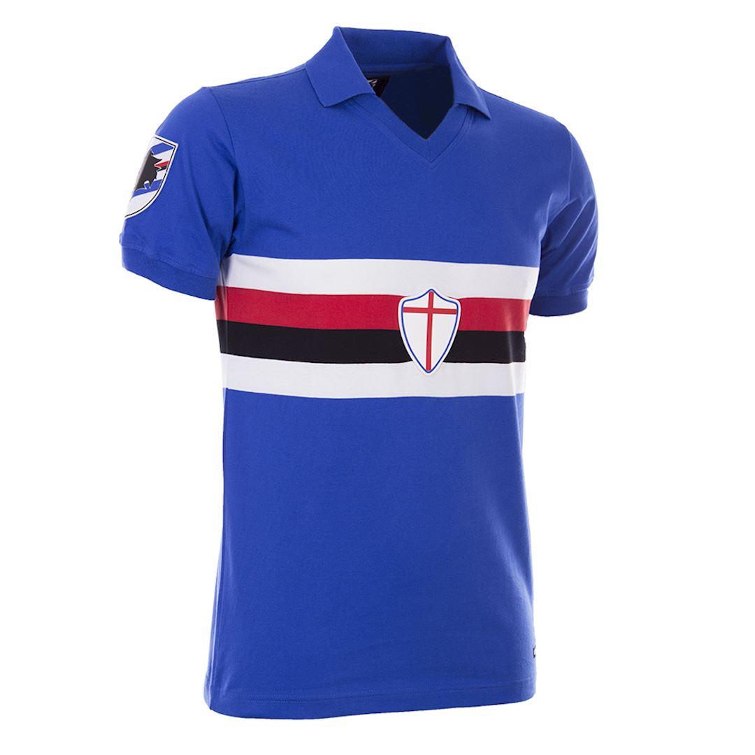 U. C. Sampdoria 1981 - 82 Retro Football Shirt | 3 | COPA