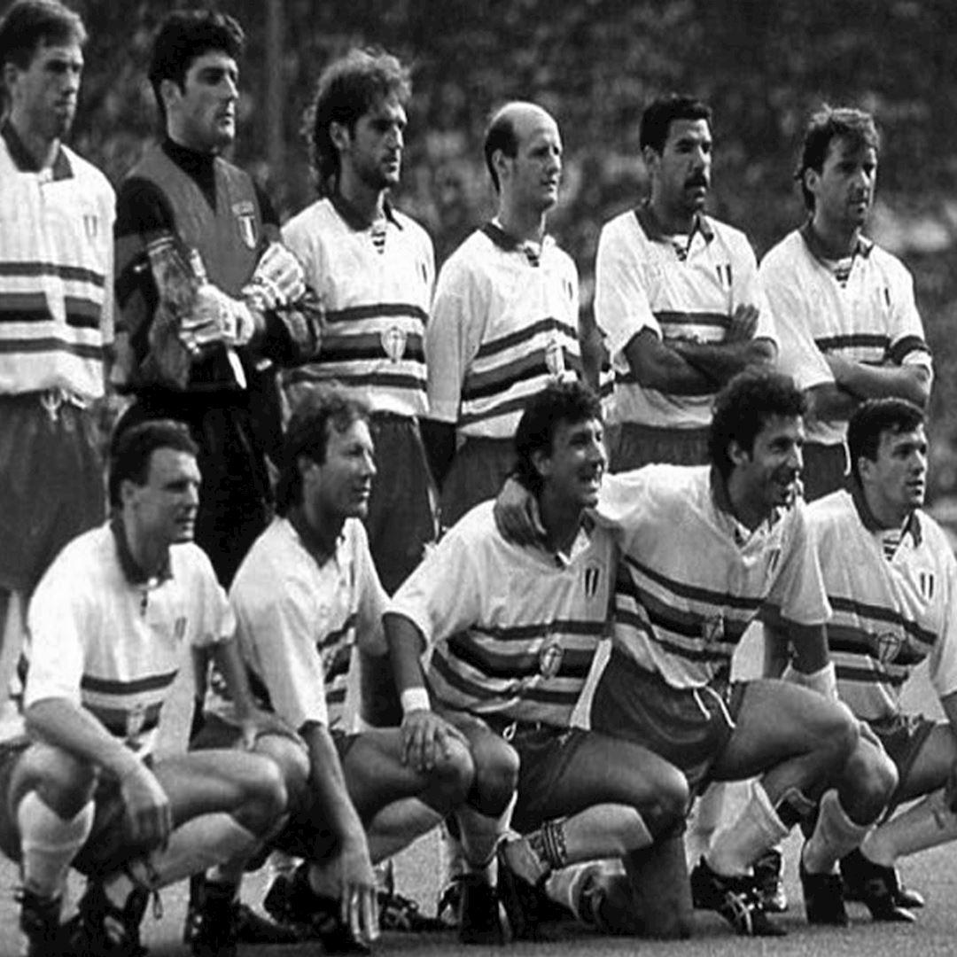 U. C. Sampdoria 1991 - 92 Away Retro Football Shirt | 2 | COPA