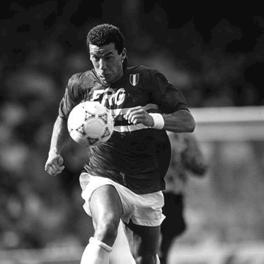U. C. Sampdoria 1991 - 92 Retro Football Shirt | 2 | COPA