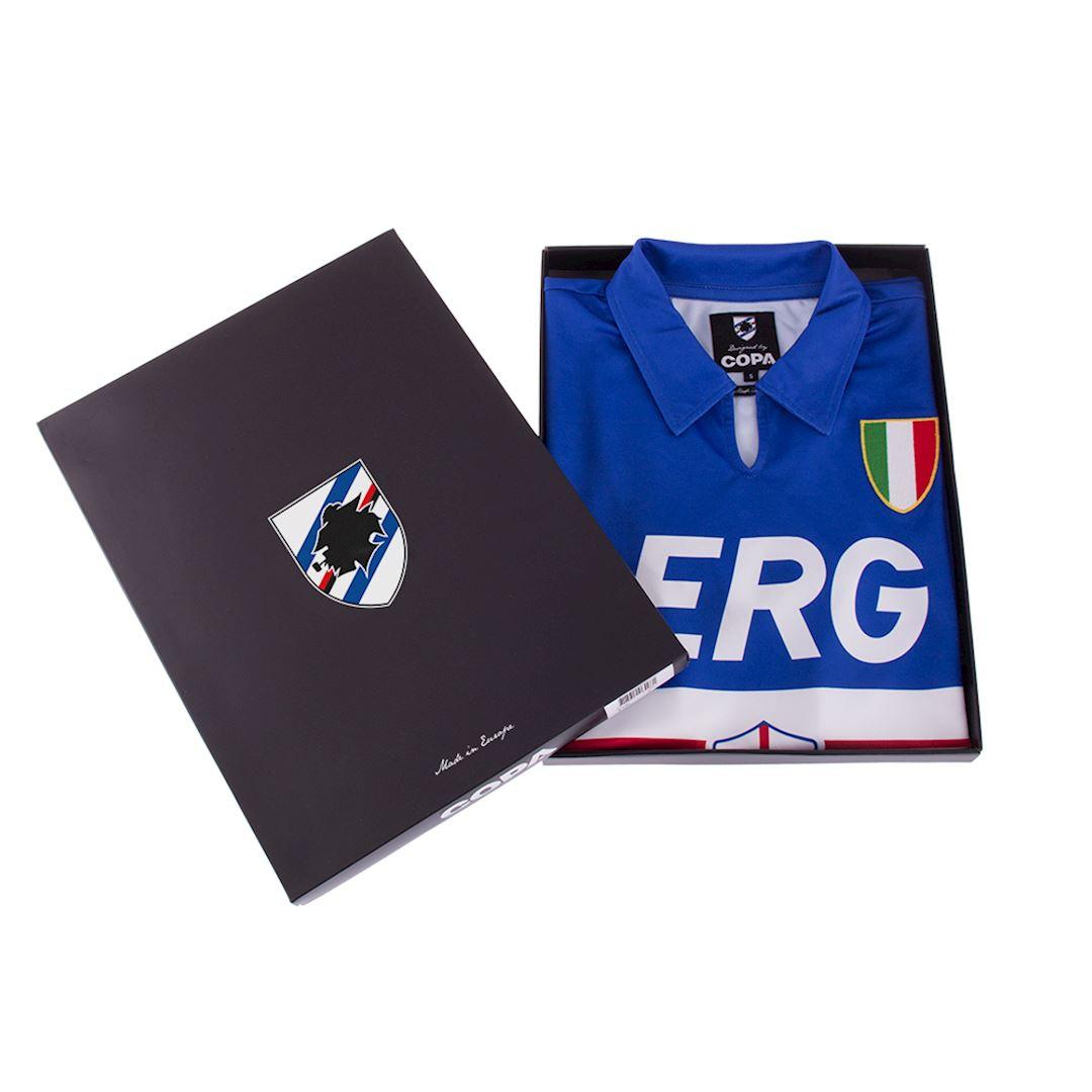 U. C. Sampdoria 1991 - 92 Retro Football Shirt | 7 | COPA
