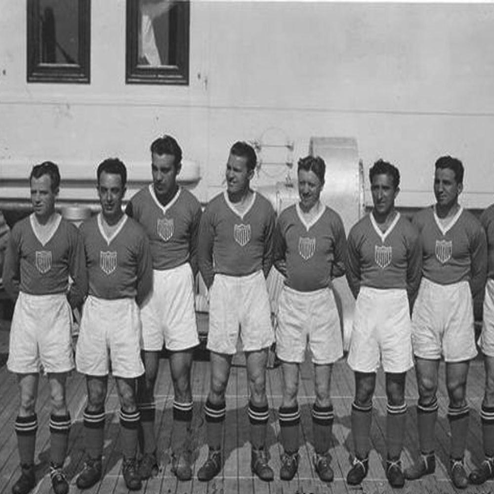 USA 1934 Retro Voetbal Shirt | 2 | COPA