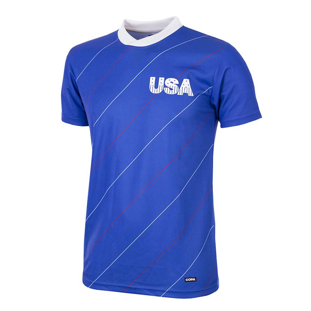 USA 1984 Retro Football Shirt | 1 | COPA