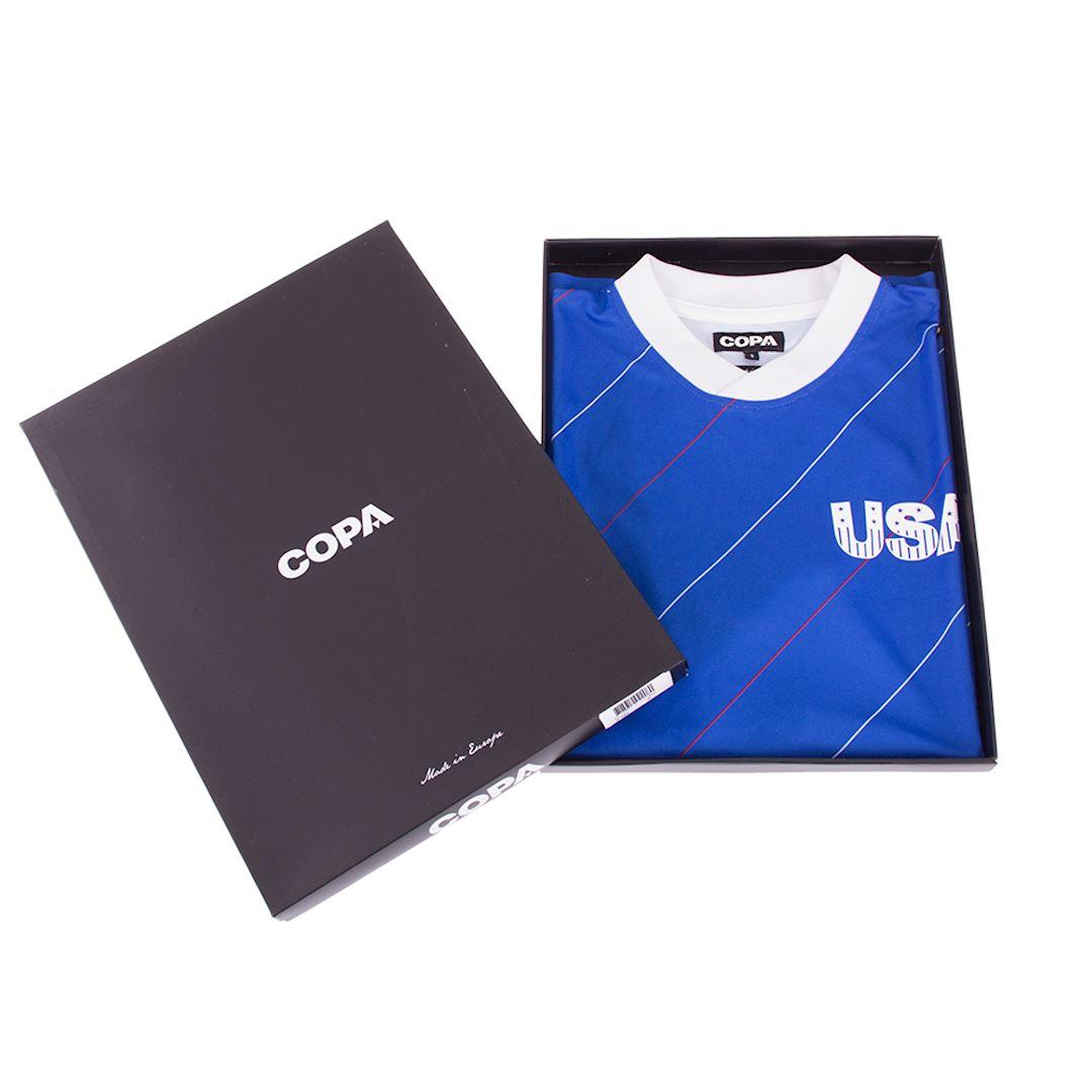 USA 1984 Retro Football Shirt | 6 | COPA